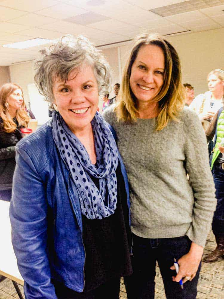 Reinventing Your Life Workshop with Claire Cook - Katy Kozee with Claire Cook