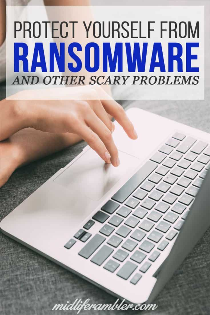 Did you know that someone could encrypt all the files on your hard drive so you can't use them unless you pay them a ransom? It's true and it happens all the time. Find out how to protect yourself from ransomware and other scary tech problems.