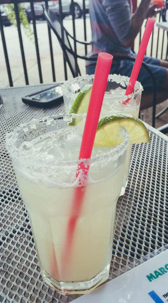 Bike or margarita - you cannot have both.