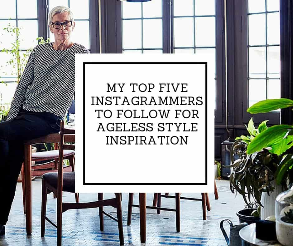 My Top Five Instagrammers to Follow for Ageless Style Inspiration