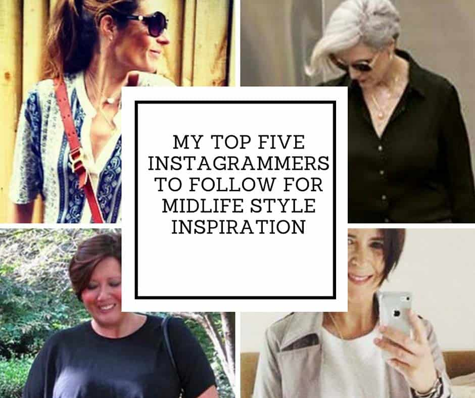 My Top Five Instagrammers to Follow for Midlife Style Inspiration