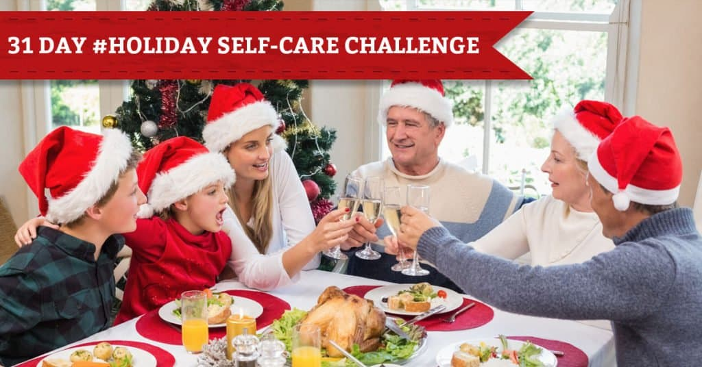 31 Days of Holiday Self-Care, Day 25, Merry Christmas! Choose Your Own Holiday Self-Care Tip