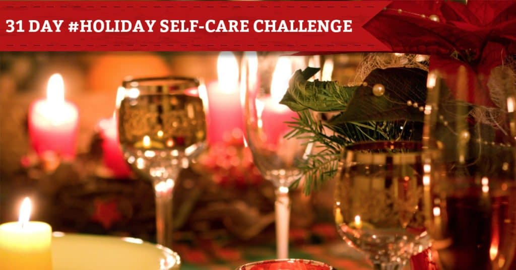31 Days of Holiday Self-Care, Day 4: Have Dinner by Candlelight
