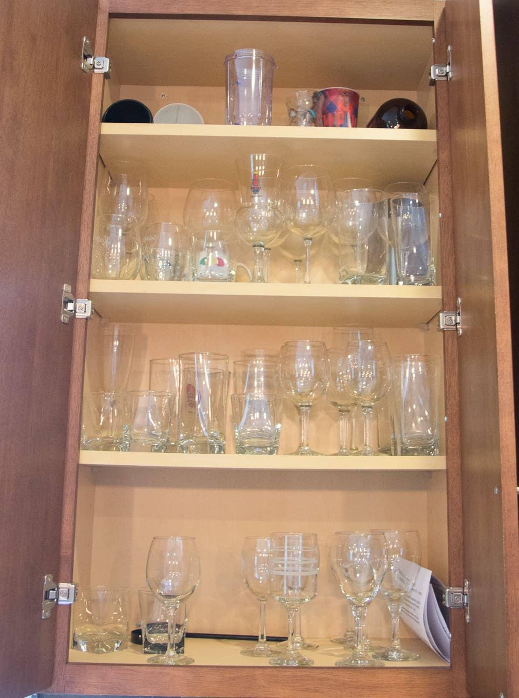 A Sneak Peek into My KonMari Kitchen Cabinet Reorganization 6