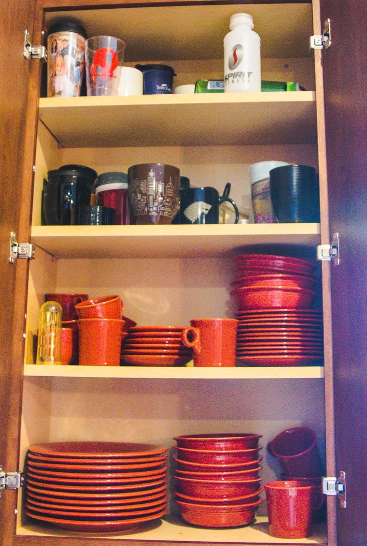 A Sneak Peek into My KonMari Kitchen Cabinet Reorganization 8