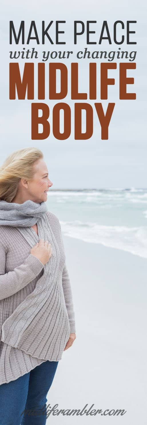 You don't have to go to the beach in a sweater just because your body is going through changes caused my menopause or perimenopause. Here's how to be gentle with yourself and your body during this time of change.