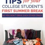 5 Tips for Your College Student's First Summer Break 1