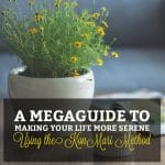 A Megaguide to Making Your Life More Serene Using the KonMari Method