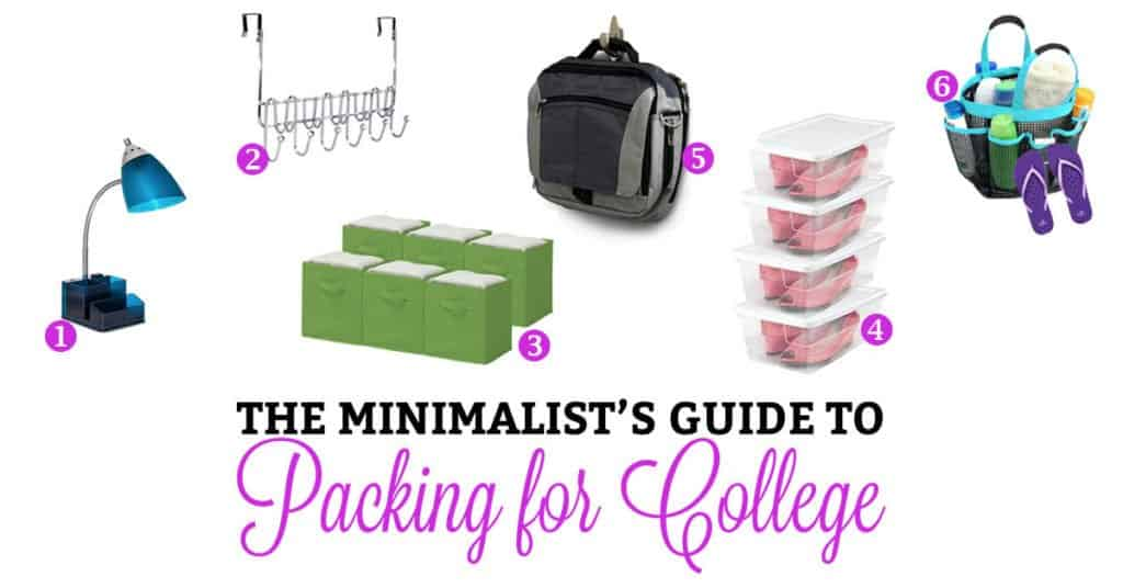The Minimalist's Guide to Buying for College