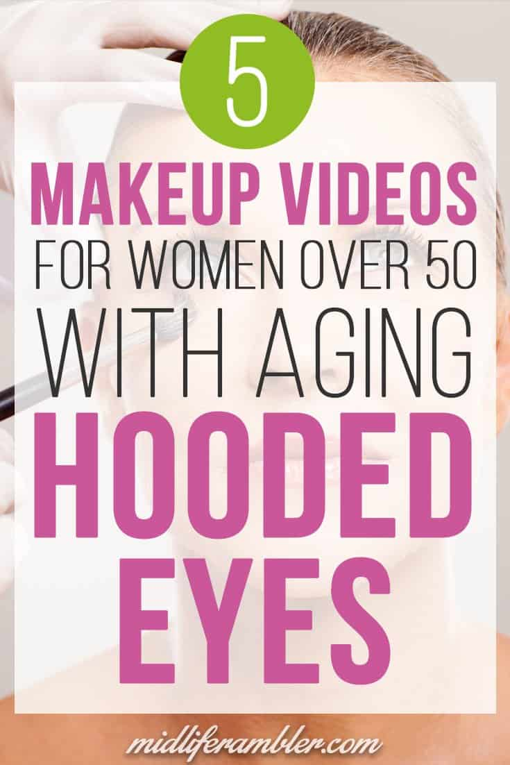 As I'm getting older, I'm realizing I need to update my eye makeup to cover my hooded eyes. I've been following the tips in these great Youtube videos for hooded eyes and it's made a huge difference! My eyes look wide open now.