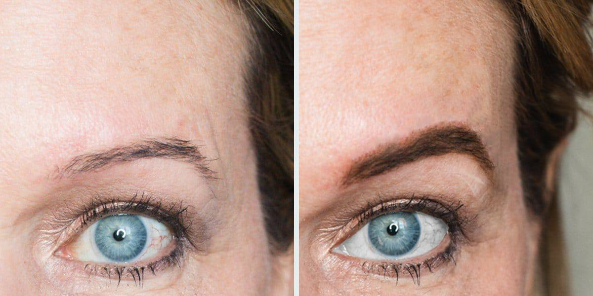 How to Make Your Thinning, Over-Plucked Aging Eyebrows Look Lush and Full