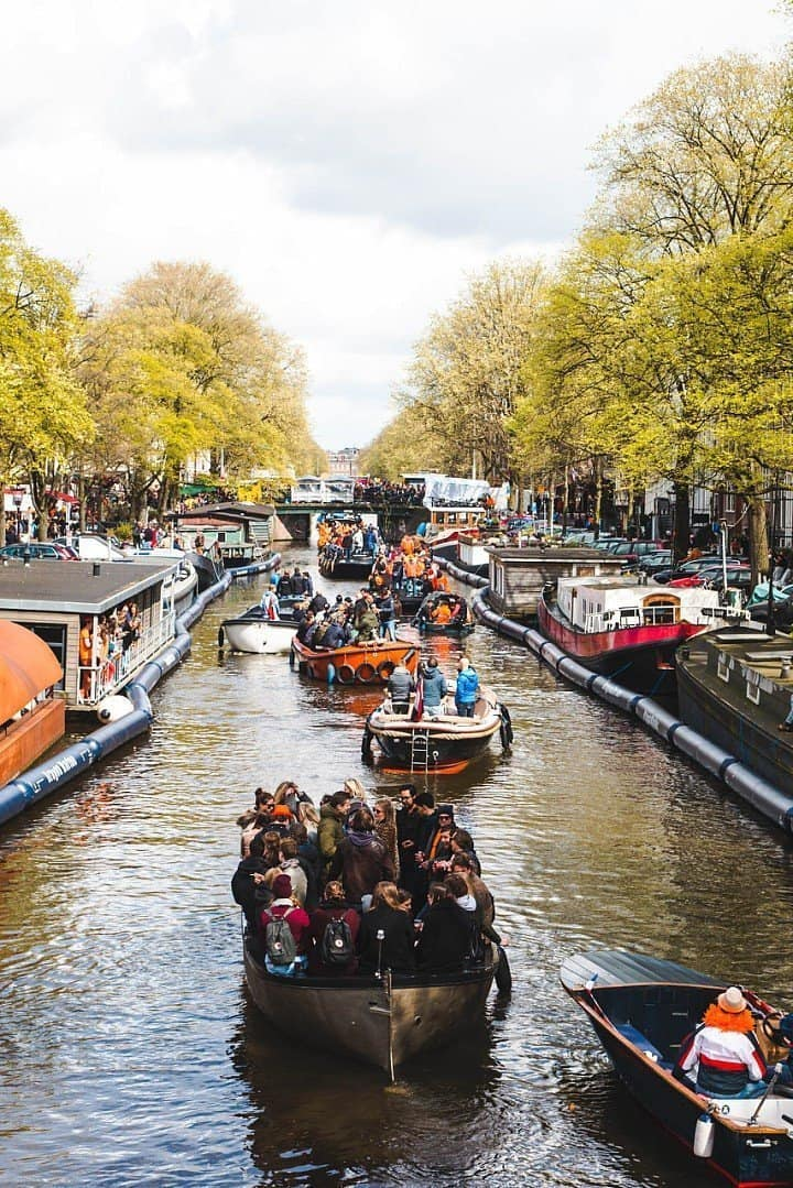 Here's Why You Need to Be in Amsterdam on April 27 for King's Day 8