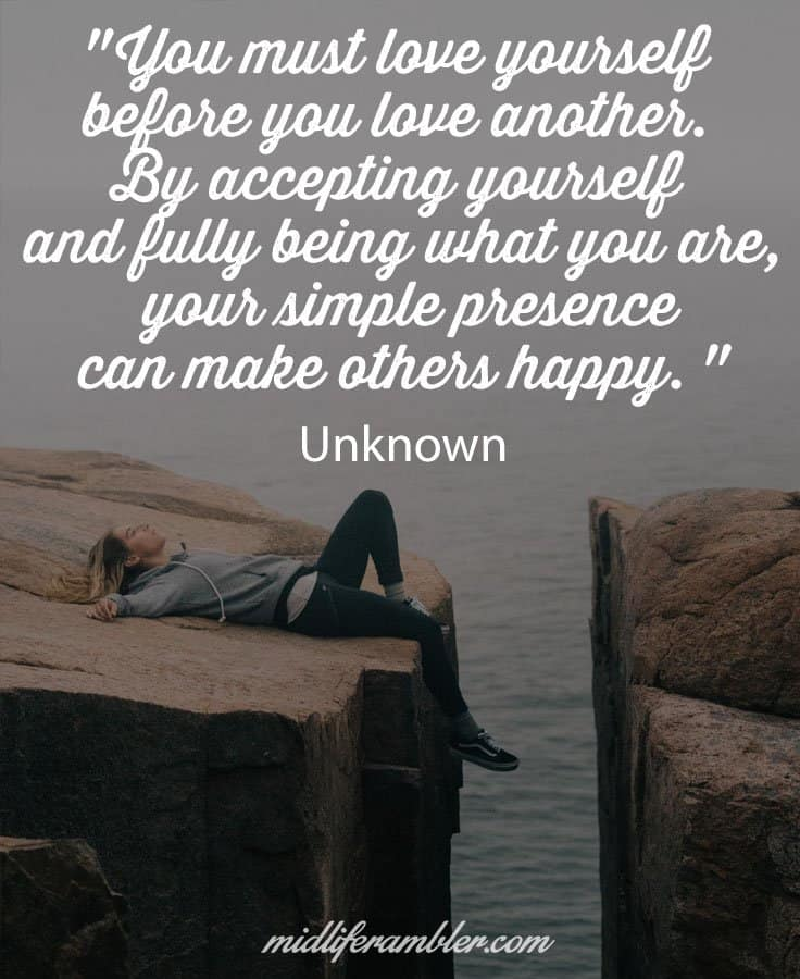 You must love yourself before you love another - why focusing on your own needs isn't selfish