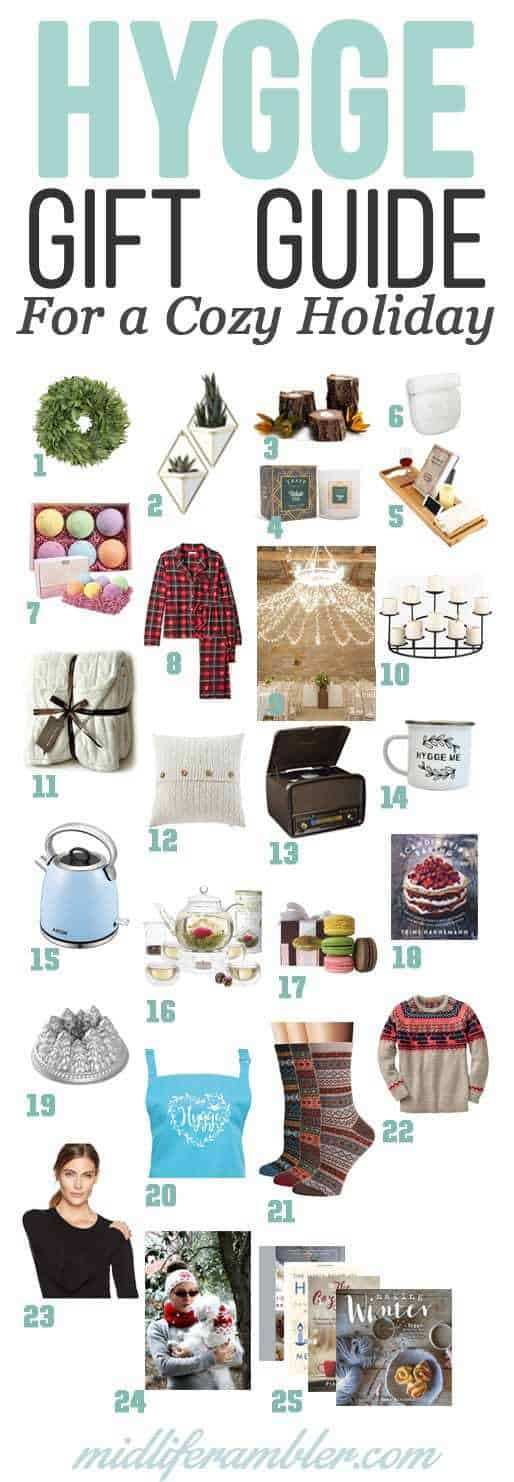 Everybody loves a hygge holiday gift this season. Here are 25 great hygge gifts to bring coziness and joy to your loved ones this holiday season.