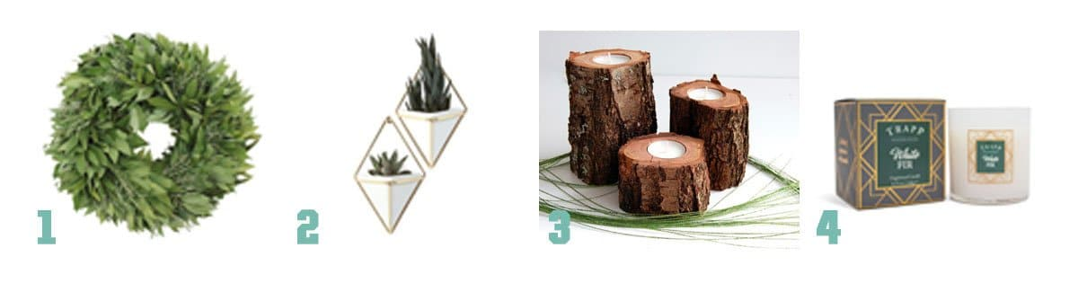 Some great gifts to bring a little hygge to those you love this holiday season - here are some to bring the outside in.
