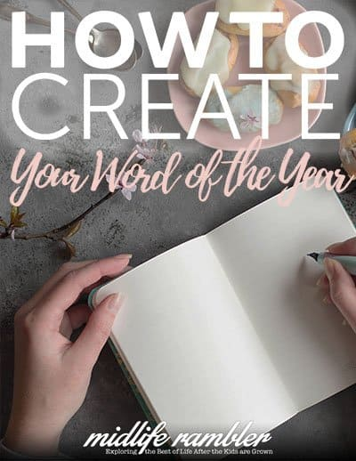 How to Create Your Word of the Year