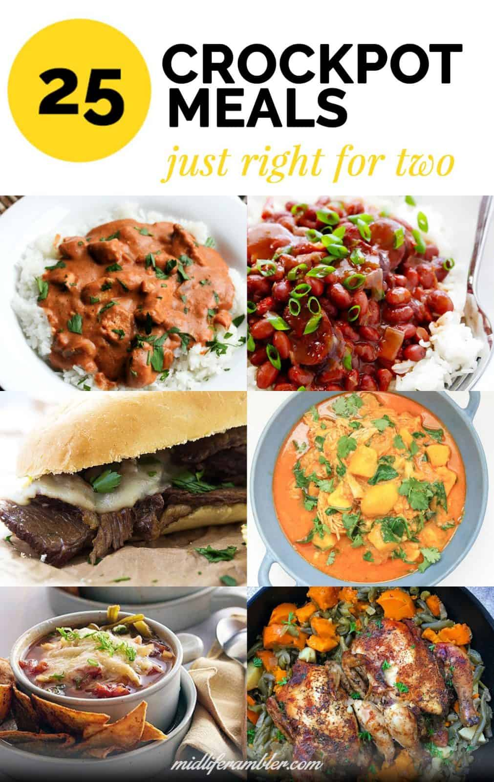 25+ Great Crockpot Meals Just Right for Two People 3
