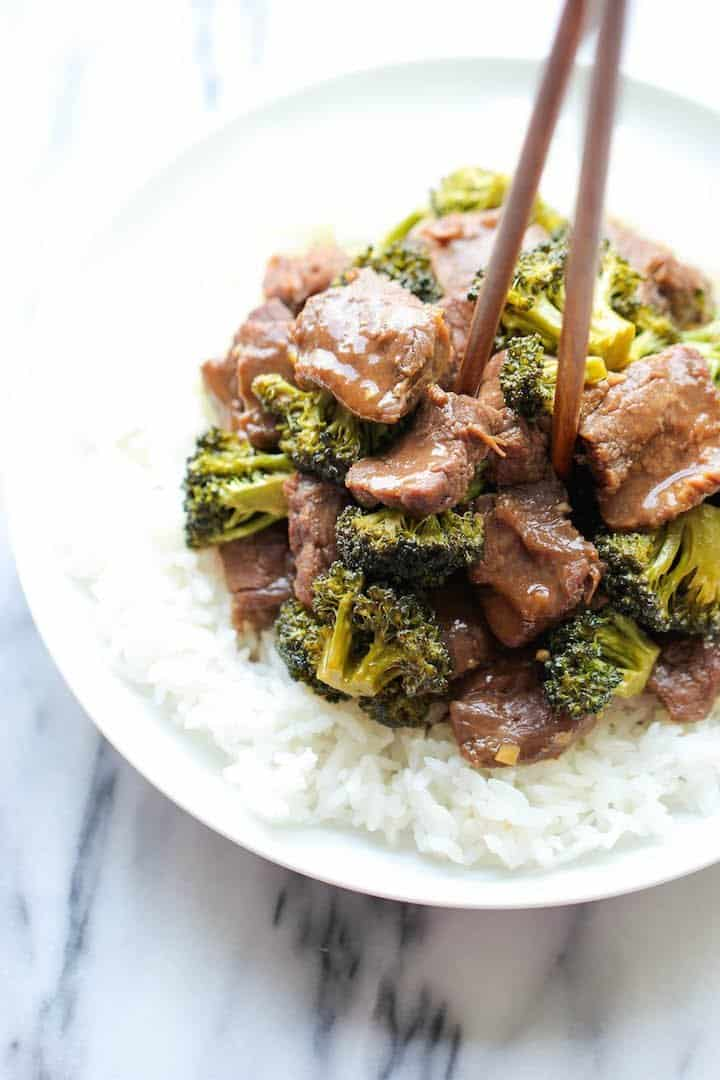 Slow Cooker Beef and Broccoli - 25+ Great Slow Cooker Meals Just Right for Two People