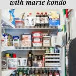 Decluttering and Organizing the Kitchen with Help from Marie Kondo 1