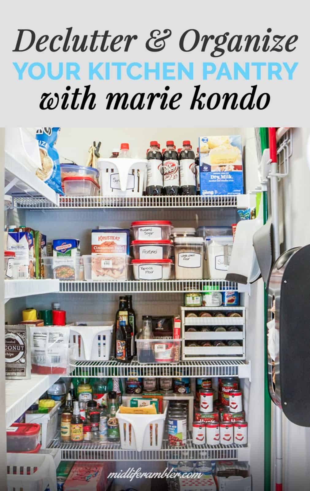 Decluttering and Organizing the Kitchen with Help from Marie Kondo 2