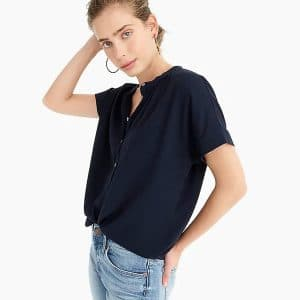 Drapey Pop-Over Shirt