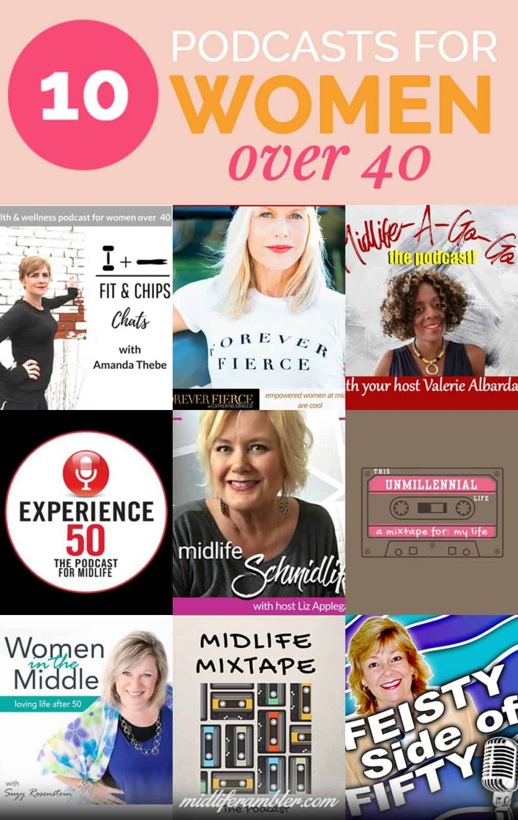 10 Podcasts That are Perfect for Midlife Women 4