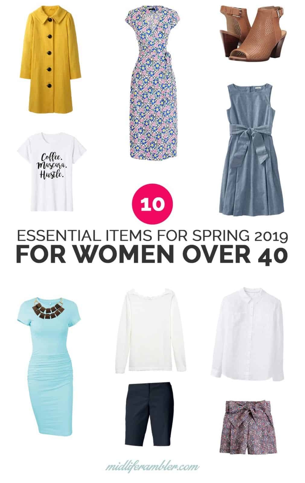 10 Essential Items for Women Over 40 to Update Your Wardrobe for Spring and Summer 22