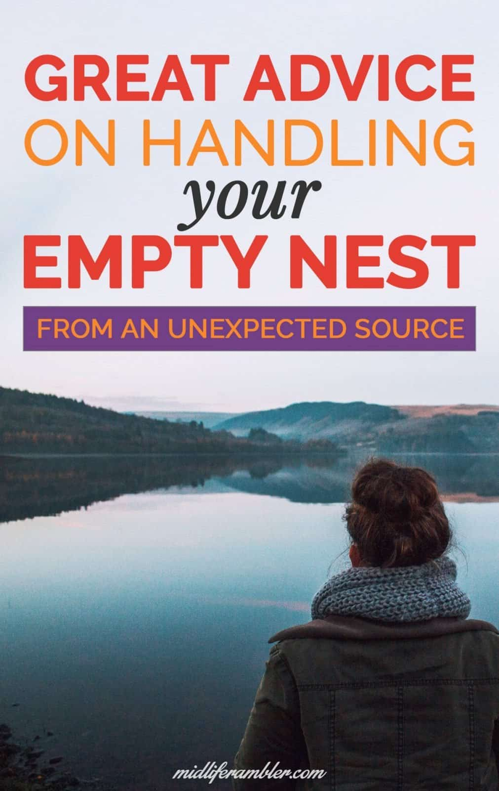 Great Advice on How to Handle Your Upcoming Empty Nest from a Surprising Source 30
