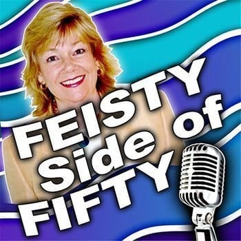 Feisty Side of Fifty - Eileen Williams's podcast discusses a wide range of topics of interest to women over 50 such as holistic health, dealing with grief, and relationships over 50 in these short interviews with renowned experts