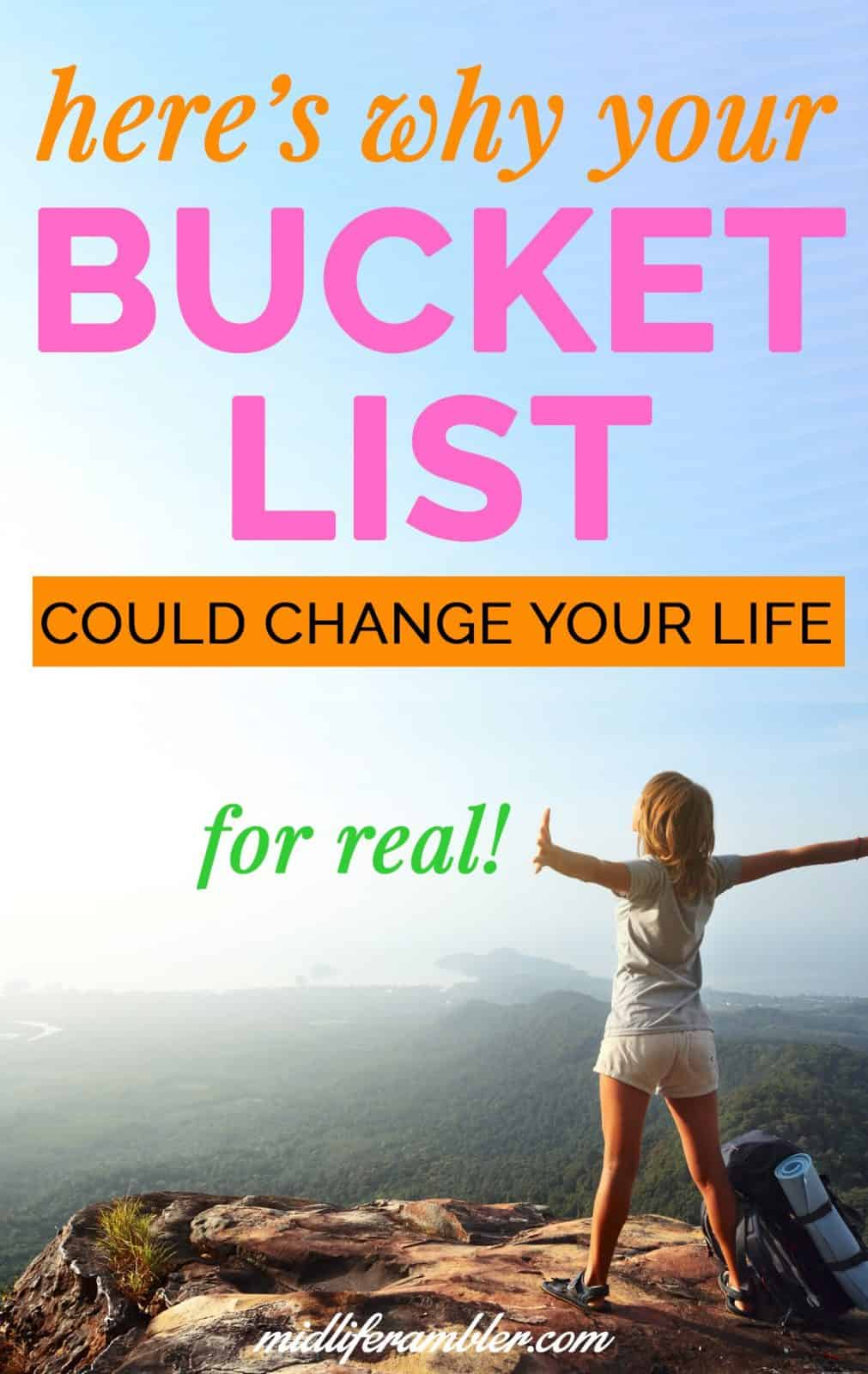 How a Bucket List Can Help You Reinvent Your Life Over 40 14