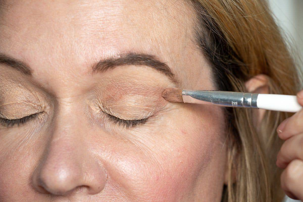 Step-by-Step Hooded Eye Makeup Tutorial That's Perfect for Women over 40 3
