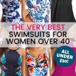 25+ Swimsuits for Women Over 40 You'll Love for Under  1