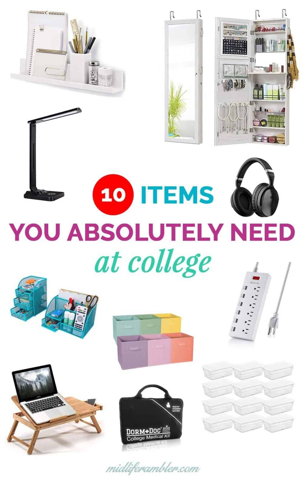 10 Essentials You Need for Your College Dorm that Even a Total Minimalist Will Use 20