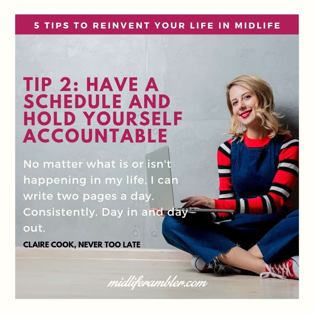 Five Tips to Reinvent Your Life in Midlife 4