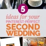 How to Plan the Perfect Second Wedding Over 40 1
