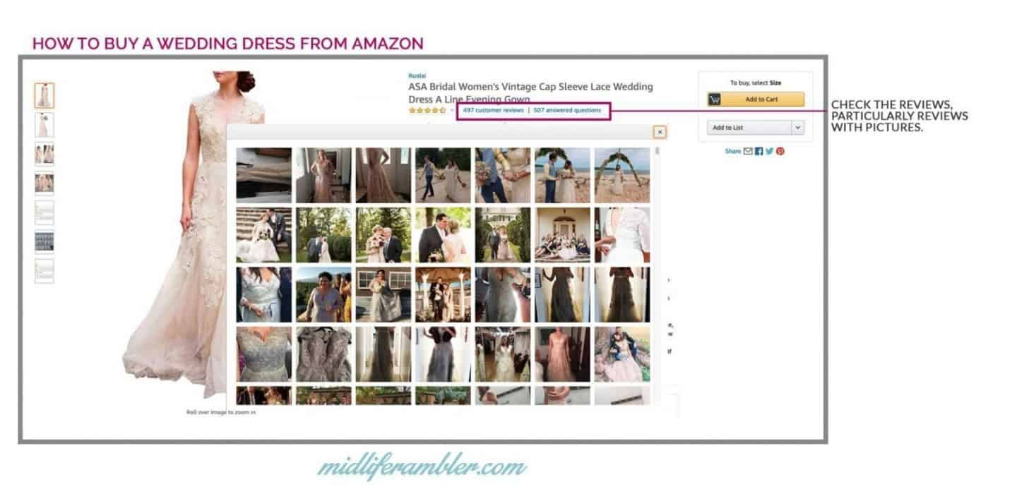 20 Wedding Dresses Perfect for the Over 40 Bride That You Can Get from Amazon 10