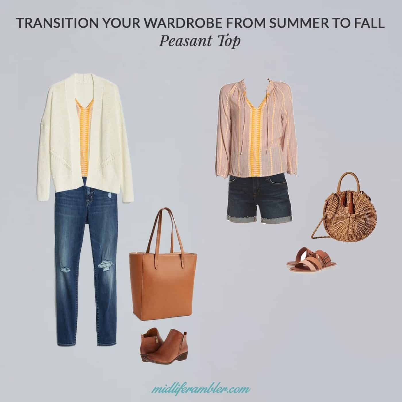 5 Pieces You Can Wear Now and Easily Transition from Summer to Fall Outfits 4