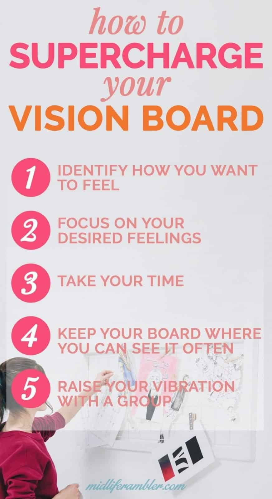 5 Reasons Your Vision Board isn't Working and How to Supercharge Your Vision Board for Success 16