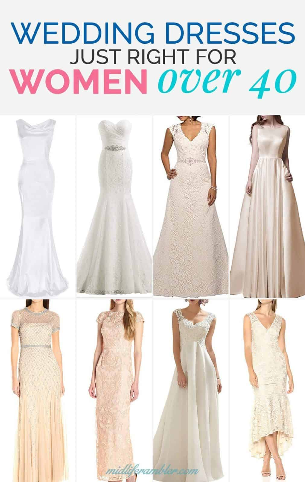 20 Wedding Dresses Perfect for the Over 40 Bride That You Can Get from Amazon 16