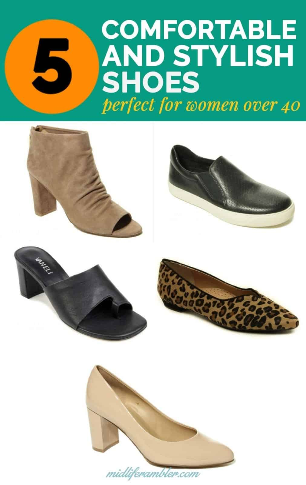 5 Comfortable and Stylish Shoes Perfect  for Women Over 40 10