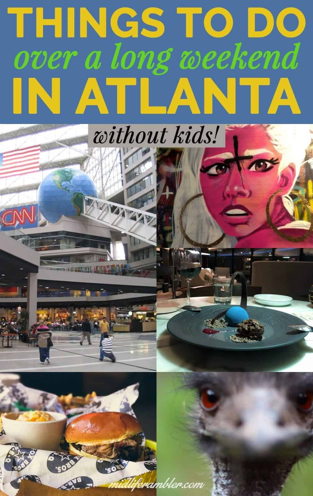 The Empty Nester's Guide to a Long Weekend in Atlanta 3