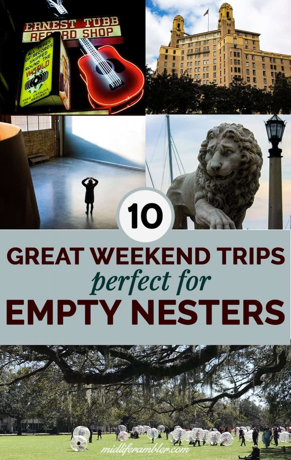 10 Best Weekend Getaways for Empty Nesters in the United States 22