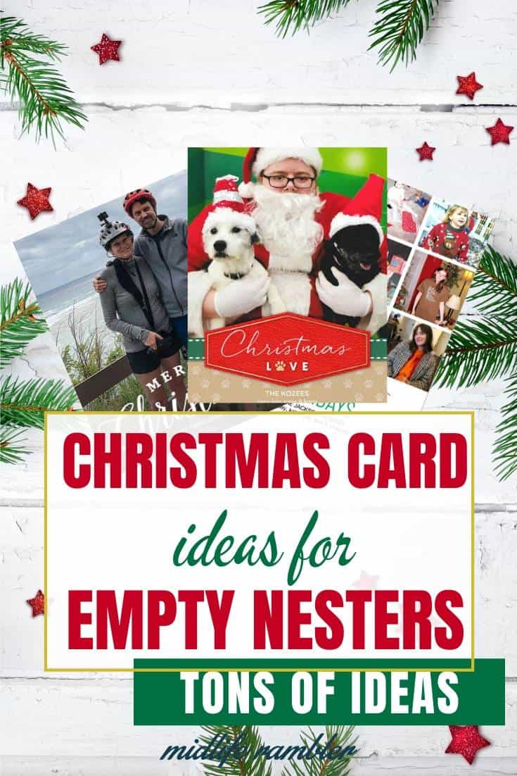 Christmas Card Ideas for Empty Nesters 9