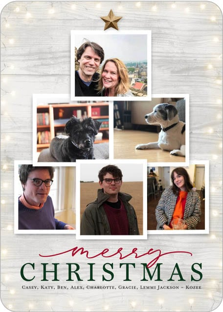 Christmas Card Ideas for Empty Nesters 2