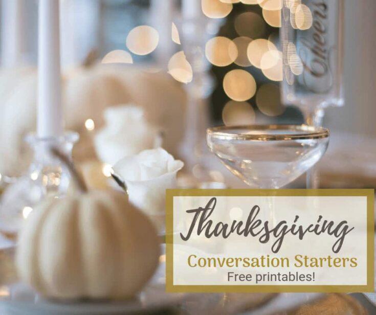 10 Free Printable Thanksgiving Conversation Starters 8