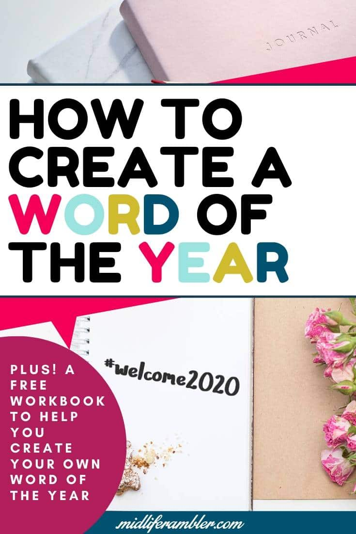 Why You Should Ditch Your New Year's Resolution and Pick a Word of the Year Instead 6
