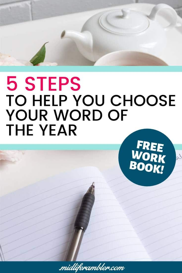Why You Should Ditch Your New Year's Resolution and Pick a Word of the Year Instead 8