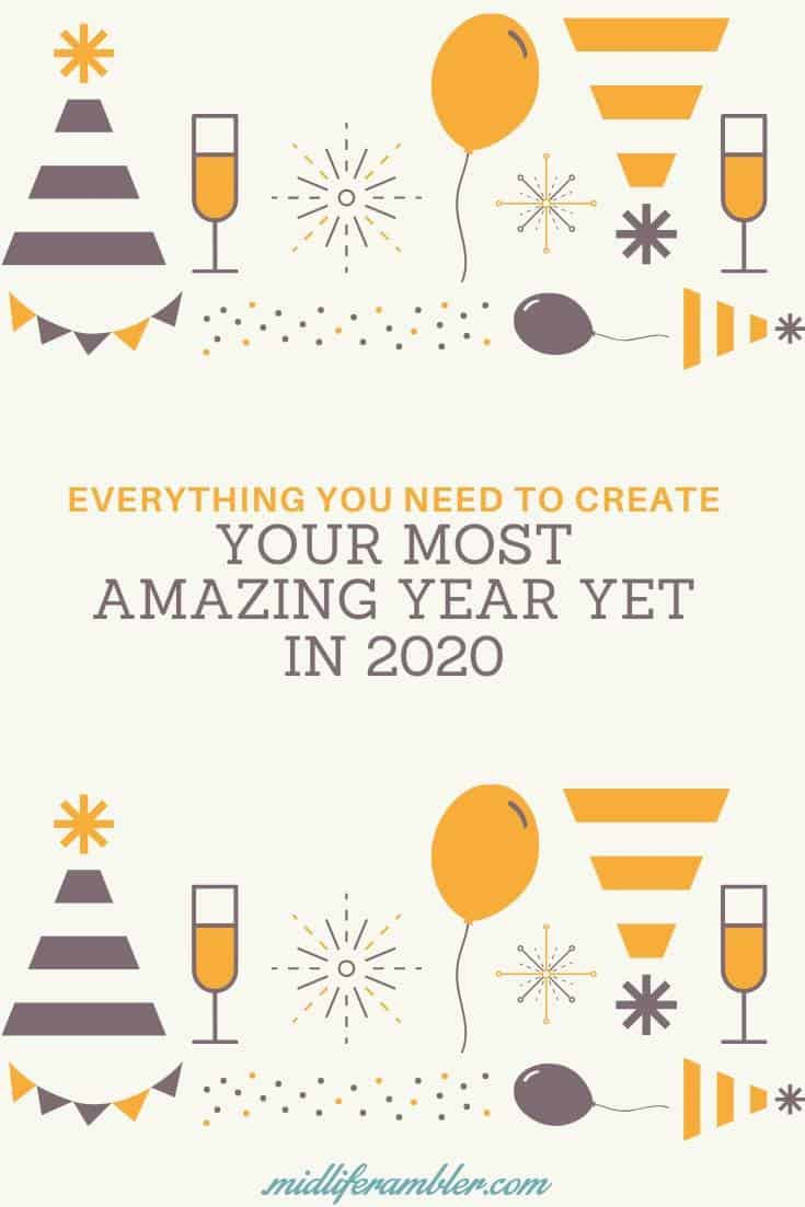 No matter what your goals for 2020 are - live more intentionally, achieve big dreams, treat yourself better or get organized once and for all - we've got you covered. Plus, we've got tons of downloadable resources to help support you. Click now for over mega-guide for having your best year yet in 2020. #newyear2020 #newyearsgoals #bestyearever