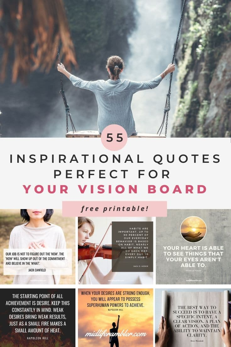 55 Inspirational Quotes for Your Vision Board 6