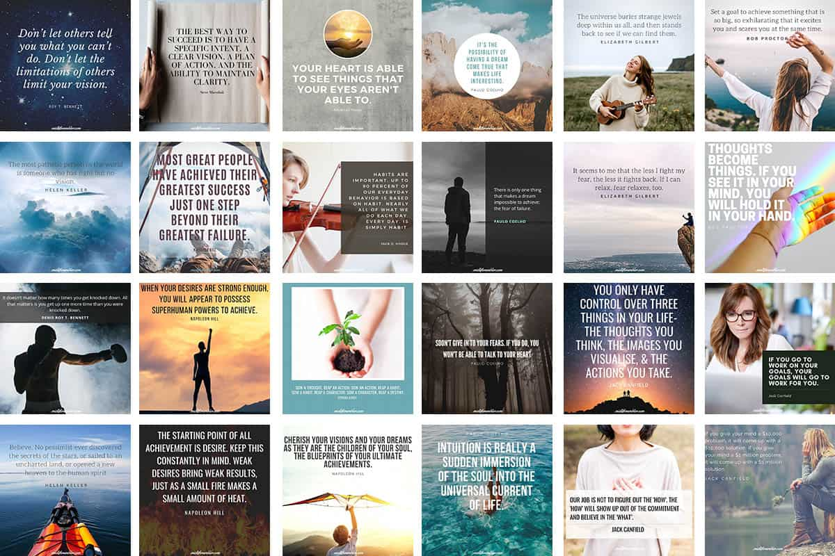 Vision Board Quotes
